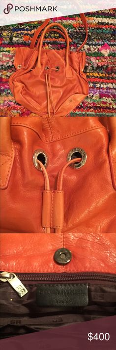 Sonia Rykiel Orange Handbag! Gorgeous burnt orange Sonya Rykiel handbag. Never used!! Sonya Rykiel Bags