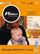Revista Pátio Educação Infantil de 0 a 3 anos.