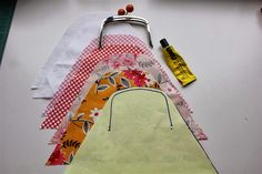 """Welcome to my first """"share it Saturday"""" post, where I will endeavour to share my knowledge on something sewing/quilting related with you… By far the most requested tutorial I've had recently has been for a framed purse tutorial so that is where we will start. Ingredients required: ** 1 purse frame of the glue-in variety …"""