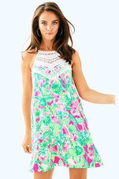 f2b1f2890d5 Pearl Soft Shift  White Lace Neckpiece Lily Pultizer