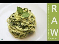 Spaghetti alle Erbette Aromatiche - Ricetta Raw Igienista