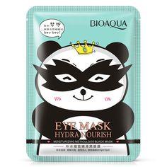 BIOAQUA Hydrating meticulous smooth black eye mask Fade Dark Circle Eye Bag Anti-Wrinkles Hydrating Moist Brighten Eyes Mask