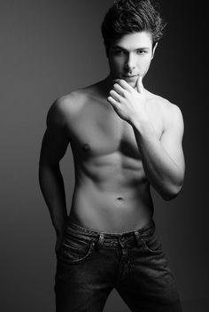 Corey Turner x Wong Sim Male Torso, Art Of Man, Love Jeans, Model Body, Male Figure, Poses, Male Physique, Male Face, Good Looking Men