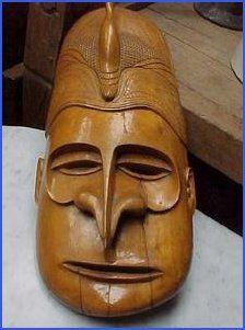 Teak Wood ~ Solomon Islands, 1945 African Sculptures, Solomon Islands, Balinese, South Pacific, Papua New Guinea, Woodcarving, Teak Wood, Tribal Art, Headdress