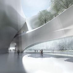 MAD - Beijing - Architects.     China Wood Sculpture Museum Harbin