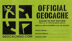 Though one of the most unusual hobbies , Geocahing is becoming more and more popular. It is a modern treasure hunting and seems to be really funny!