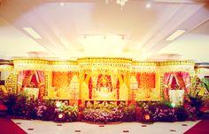 Minang wedding stage