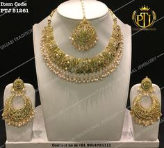 "Punjabi Traditional ""Gold Plated Jadau Pearl Set""(Next to Real)  Item code - PTJ S1261  For price please inbox with Image or WhatsApp at this number +91 9914721111 or you can email us at Punjabijewellery@gmail.com #sydney #australia #america #canada #california #kuwait #dubai #london #england #india #italy #sikhwedding #bride #fashion #happy #jewellery #kundan #lehnga #love #newyork #NYC #punjabi #toronto #traditional #uk #us #usa #viah #swarovski"