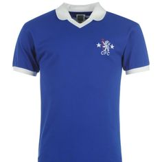 Chelsea FC retro jersey - $42 plus free shipping at www.premiersportsproducts.com