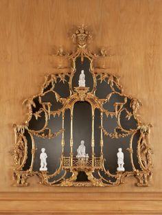 The Ditchley Park Mirror by John Linnell