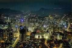 Downtown Seoul Cityscape