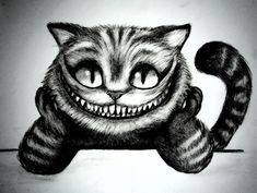 Cheshire Cat Smile Tattoo Design 8 cheshire cat tattoo designs
