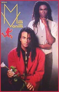 "Milli Vanilli Poster of German youth magazine ""Bravo"" with Robert Pilatus and Fabrice Morvan"