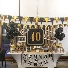 50th Birthday Party Ideas For Men, 30th Party, 40th Birthday Parties, Husband Birthday, Birthday Bash, Monster High Birthday, 40th Wedding Anniversary, Gold Party, Party Time