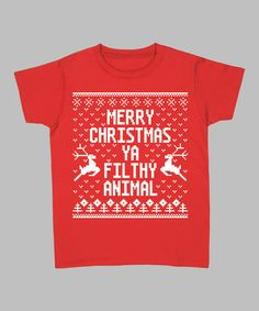 Merry Christmas Ya Filthy Animal Sweater Plus Size 105