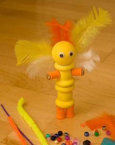 Activities: Kachina Doll August Art activity