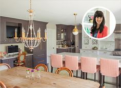 caitlin wilson kitchen | ... kaitlin wilson 1 600x442 home inspiration {gorgeous and glam kitchen