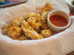 "Healthy ""KFC"" Style Popcorn Chicken!"