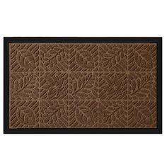 """Outside Shoe Mat Rubber Doormat for Front Door 18""""x 30"""" Outdoor Mats Entrance Waterproof Rugs Dirt Debris Mud Trapper Carpet for Patio Non Skid Doormats all Weather Exterior Door Mat Brown.   For product info please visit:  https://homeandgarden.today/outside-shoe-mat-rubber-doormat-for-front-door-18x-30-outdoor-mats-entrance-waterproof-rugs-dirt-debris-mud-trapper-carpet-for-patio-non-skid-doormats-all-weather-exterior-door-mat-brown/"""