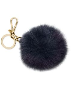 Michael Michael Kors Extra Large Fur Pom Pom Key Chain