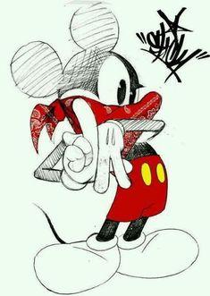 drawings of dresse Mickey Mouse Drawings, Mickey Mouse Art, Mickey Mouse Wallpaper, Mickey Mouse And Friends, Disney Drawings, Cartoon Drawings, Cartoon Art, Graffiti Drawing, Graffiti Art