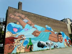 Nunca Wall Mural, 52 McCaul Street, Toronto Ontario