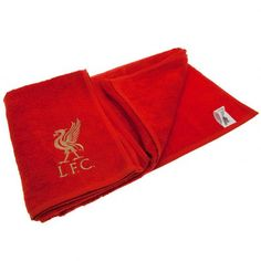 Liverpool F. Liverpool Fc Gifts, Liverpool Fans, Embroidered Towels
