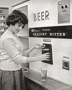 A 1960s beer vending machine, yes!!