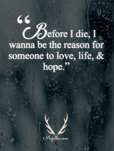 In Memory Of Me Love Quotes