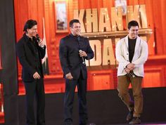 The BIGGEST news for all #Bollywood lovers!!!  Undoubtedly this is the #FilmCast of the century. Which every producer dreams to do, Sajid Nadiadwala​ has done it. The KHAN triumvirate, #KingKhan aka Shah Rukh Khan​, #BlockbusterKhan aka Salman Khan​ & #Perfectionist Aamir Khan​ are finally going to appear in a film together if the sources are to be believed. Nadiadwala has decided that the film which stars the Khan Trio will go on floors on January 2017 & will release in December 2017.