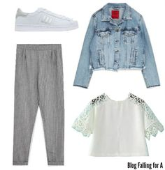 3 comfy (and cute) outfits for spring #fashion #outfits #spring // Falling for A