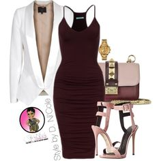 Untitled #2613 by stylebydnicole on Polyvore featuring SLY 010, Giuseppe Zanotti, Valentino and Versus