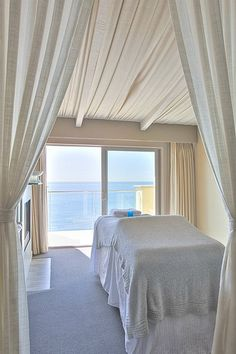 OK, so it's a SPA treatment room.  It would make a phenomenal bedroom too, albeit small.  The light and the view are wonderful.
