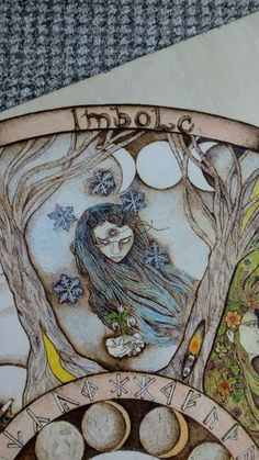 imbolc Wheel of the year