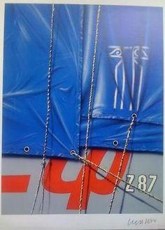 Peter Klasen  Lithographie,  Dimensions: 25x32.5cm, Éditeur : Lintas, Paris