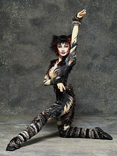 "I like the musical ""CATS"". This is the role of Bombalurina  played by Reiko Nishimura."