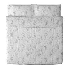 IKEA ALVINE KVIST Quilt cover and 2 pillowcases White/grey cm Extra soft and durable quality since the bedlinen is densely woven from fine yarn. Modern Duvet Covers, Bed Duvet Covers, Duvet Cover Sets, Comforter Cover, Linen Bedding, Bedding Sets, Grey Sheets, Matching Bedding And Curtains, Ikea Bed