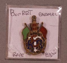 4 Antique Vintage Borrt BORT Brotherhood Railroad Trainmen Pins Gold Enamel | eBay