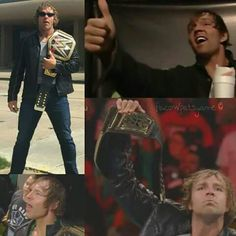 Dean Ambrose WILL become WWE WORLD HEAVYWEIGHT CHAMPION TONIGHT... BELIEVE THAT<3