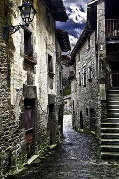 Rupit, Osona Region, Barcelona, Catalonia, Spain by Josep Enric López Beautiful Places In The World, Places Around The World, Around The Worlds, Places To Travel, Places To Visit, Medieval Town, Mundo Animal, Adventure Tours, Barcelona Spain