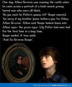 Severus Snape meets his namesake