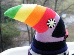 Toucan Sock Stuffed Toy Baby Home Decor Soft Doll by RageRabbit