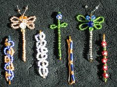 An old favorite--beaded bobby pins are easy and fun to make.  Do a set of 4-6, attach to a 3x5 sheet of cardstock.  Wrap it up and tie it with a bow for your favorite girly-girl. If you had fun making them, consider packing up the leftover wire, beads, and bobby pins as a little kit and she can make some of her own!