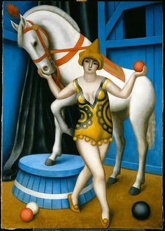 Jean Metzinger (French, 1883-1956). Circus Equestrienne, 1924. The Metropolitan Museum of Art, New York. Gift of Nanette B. Kelekian, 2001. (2001.556)