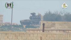 Να πως είναι το ρωσικό άρμα μάχης T-90 που χτυπήθηκε από πύραυλο TOW στη Συρία