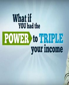 Triple your income and duplicate your team fast and easy. Easy