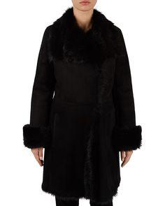 Gerard Darel shearling Coat