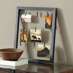 "Window Clip Frame - Black  $23.96 For laundry room... ""lost socks""... ??"