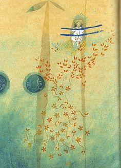 Illustrated by Elodie Nouhen Art Amour, France Art, Children's Book Illustration, Book Illustrations, Child And Child, Love Art, Childrens Books, Illustrators, Design Art