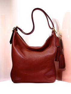 Pin & Win! Classic chic. Brown bag it #Coach #duffle #bag #leather #macyfallstyle BUY NOW!